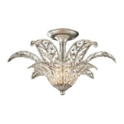 Elk Lighting 11365/1 La Flor - One Light Semi-Flush Mount