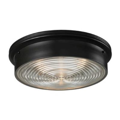Elk Lighting 11453/3 Three Light Flush Mount
