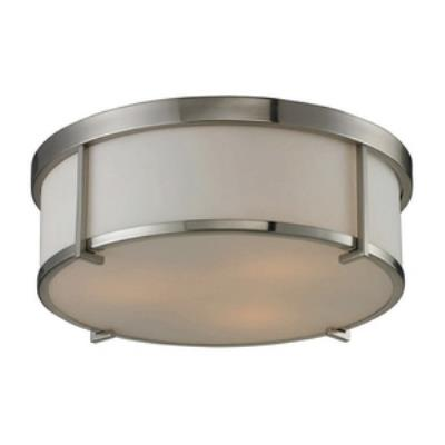 Elk Lighting 11465/3 Three Light Flush Mount