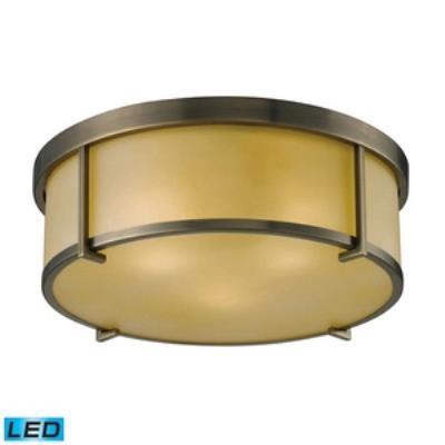 Elk Lighting 11485/3-LED Three Light Flush Mount