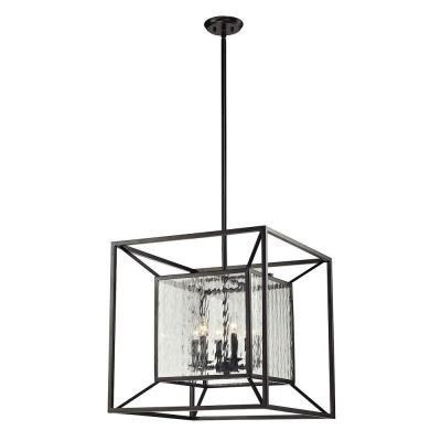 Elk Lighting 14123/6 Cubix - Six Light Chandelier
