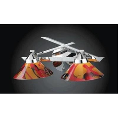 Elk Lighting 1471/2JAS Refraction - Two Light Wall Bracket