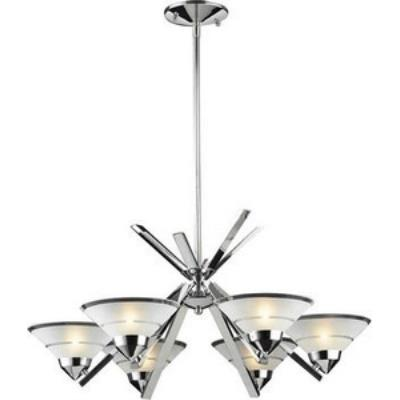 Elk Lighting 1475/6 Refraction - Six Light Chandelier