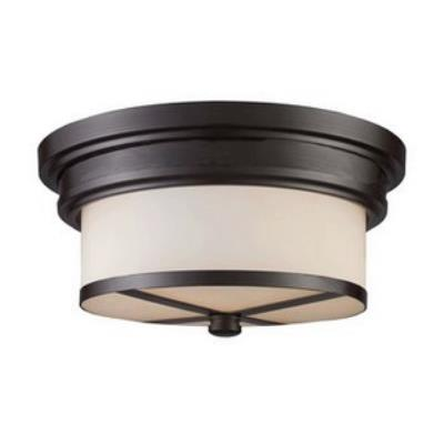 Elk Lighting 15025/2 Two Light Flush Mount