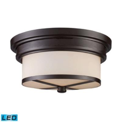 Elk Lighting 15025/2-LED Two Light Flush Mount