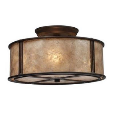 Elk Lighting 15031/3 Barringer - Three Light Semi-Flush Mount