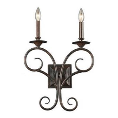Elk Lighting 15040/2 Gloucester - Two Light Wall Sconce