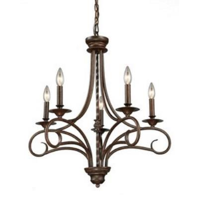 Elk Lighting 15042/5 Gloucester - Five Light Chandelier
