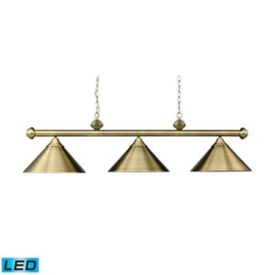 Elk Lighting 168-TB-LED Casual Traditions - Three Light Island
