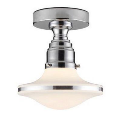 Elk Lighting 17053/1 Retrospectives - One Light Semi - Flush