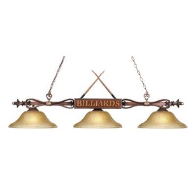 Elk Lighting 194-WD-G6 Designer Classics/Island - Three Light Island