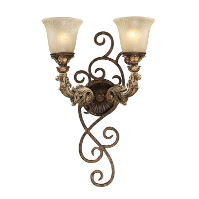 Elk Lighting 2155/2 Regency - Two Light Wall Sconce