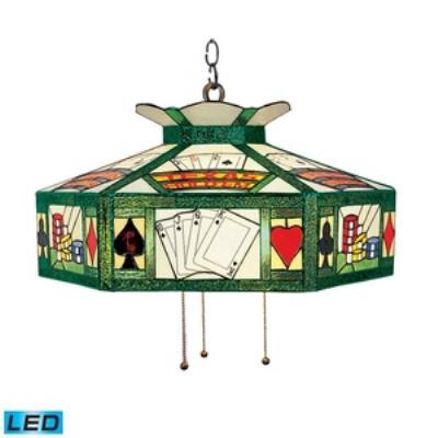 Elk Lighting 216-TX-LED Texas Hold'Em - Three Light Island