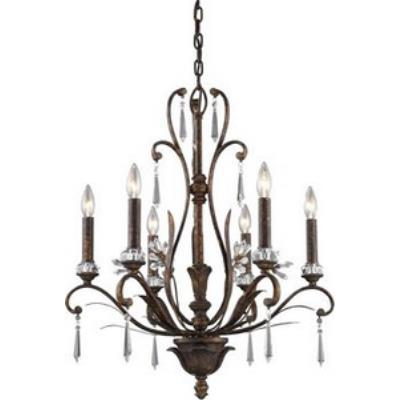 Elk Lighting 2183/6 Emilion - Six Light Chandelier