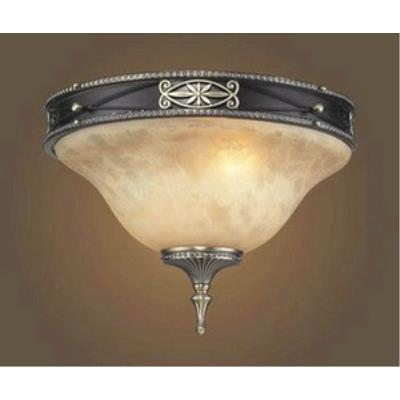 Elk Lighting 2424/2 Georgian Court - Two Light Flush Mount