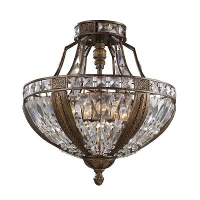 Elk Lighting 2494/6 Millwood - Six Light Semi-Flush Mount