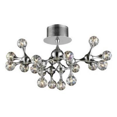 Elk Lighting 30026/18 Molecular - Eighteen Light Semi-Flush Mount
