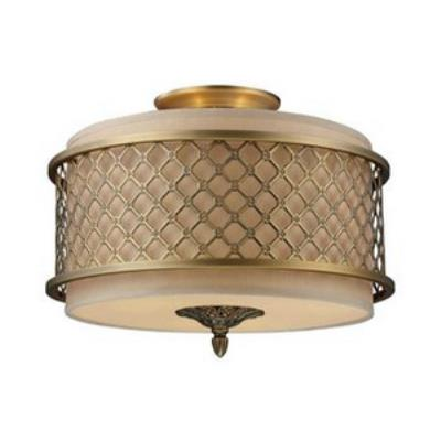 Elk Lighting 31031/3 Chester - Three Light Semi-Flush Mount