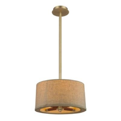 Elk Lighting 31324/3 Jorgenson - Three Light Semi-Flush Mount