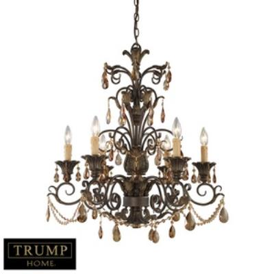 Elk Lighting 3344/6 Rochelle - Six Light Chandelier