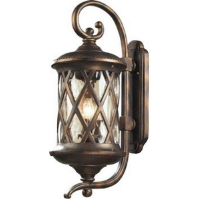 Elk Lighting 42032/3 Barrington Gate - Three Light Outdoor Wall Sconce
