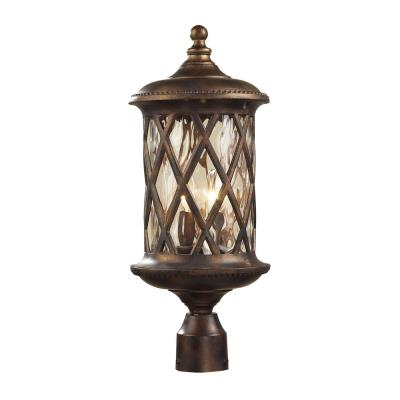 Elk Lighting 42034/2 Barrington Gate - Two Light Outdoor Post Mount