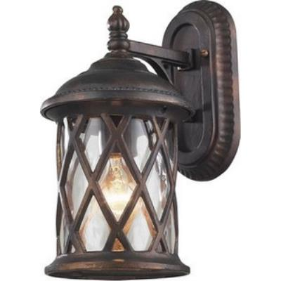 Elk Lighting 42035/1 Barrington Gate - One Light Outdoor Wall Sconce