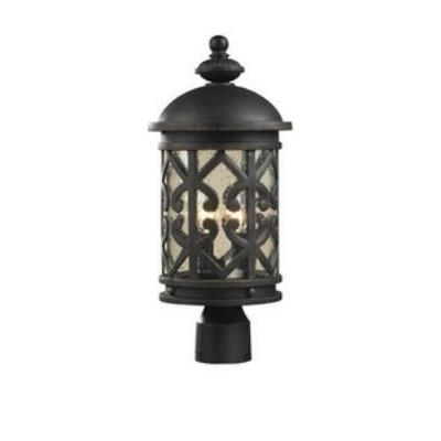 Elk Lighting 42064/2 Tuscany Coast - Two Light Outdoor Post Mount