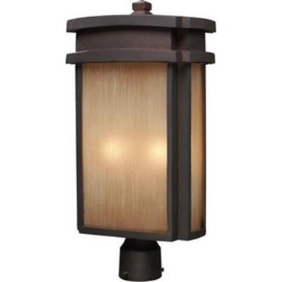 Elk Lighting 42144/2 Sedona - Two Light Outdoor Post Mount