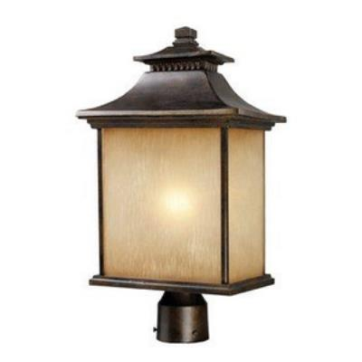 Elk Lighting 42184/1 San Gabriel - One Light Outdoor Post Light