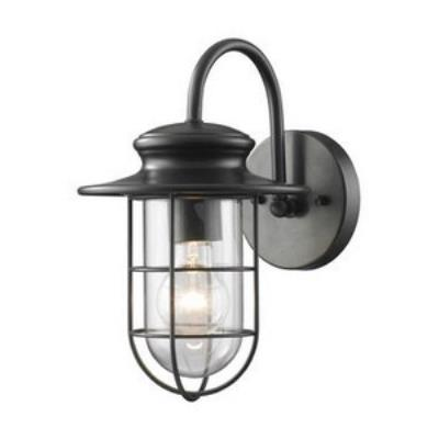 Elk Lighting 42284/1 Portside - One Light Outdoor Wall Mount