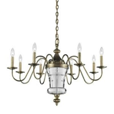 Elk Lighting 44011/8 Bensley - Eight Light Chandelier