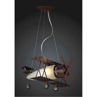 Elk Lighting 5084/1 Novelty - One Light Biplane Fighter Pendant