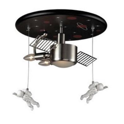 Elk Lighting 5089/3 Novelty - Three Light Astronaut Flush Mount