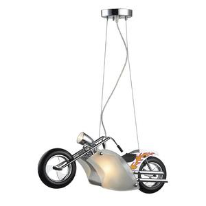 Novelty - Three Light Motorcycle Pendant