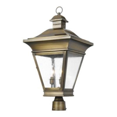 Elk Lighting 5239-ORB Reynolds - Three Light Outdoor Post