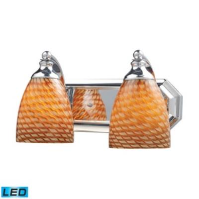 Elk Lighting 570-2C-C-LED Vanity - Two Light Bath Bar