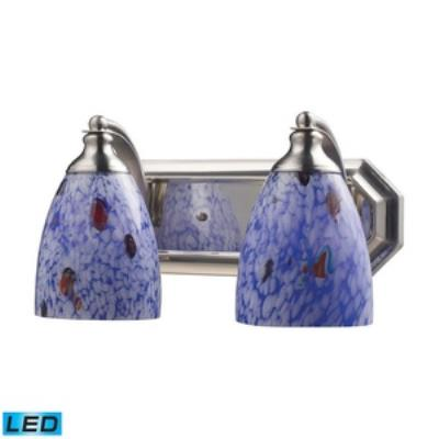 Elk Lighting 570-2N-BL-LED Vanity - Two Light Bath Bar