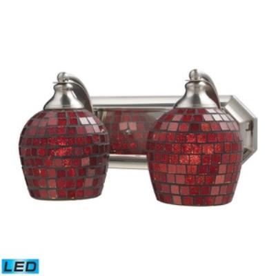 Elk Lighting 570-2N-CPR-LED Vanity - Two Light Bath Bar