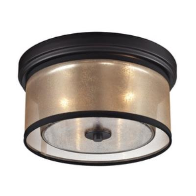 Elk Lighting 57025/2 Diffusion - Two Light Flush Mount
