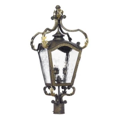 Elk Lighting 5783-CB French Quarter - Four Light Outdoor Post