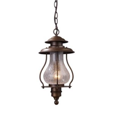Elk Lighting 62006-1 Wikshire - One Light Outdoor Pendant