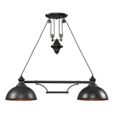 Elk Lighting 65150-2-LED Farmhouse - Two Light Island