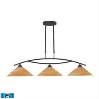 Elk Lighting 6552/3-LED Elysburg - Three Light Island