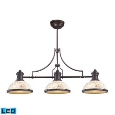 Elk Lighting 66435-3-LED Chadwick - Three Light Island