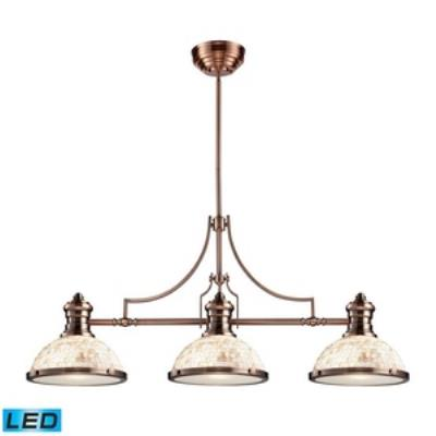 Elk Lighting 66445-3-LED Chadwick - Three Light Island