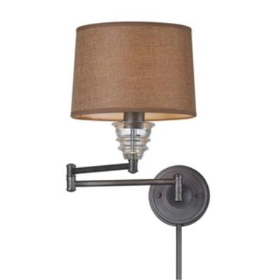 Elk Lighting 66824-1 One Light Swing Arm Wall Mount