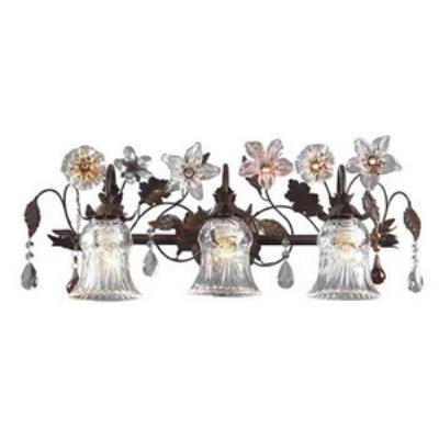 Elk Lighting 7042/3 Cristallo Fiore - Three Light Wall Bracket