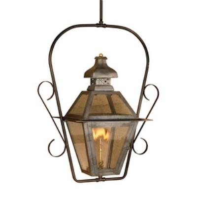 Elk Lighting 7920-WP Bayou - One Light Gas Ceiling Lantern