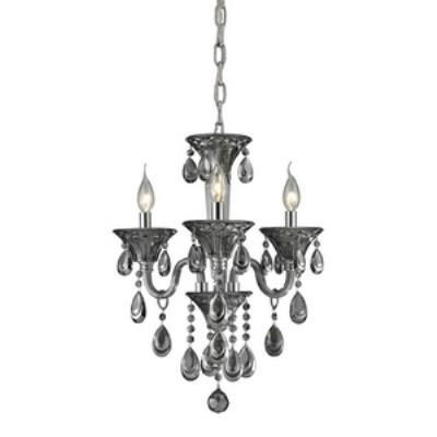 Elk Lighting 80011/3 Formont - Three Light Crystal Chandelier